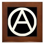 Anarchist Framed Tile