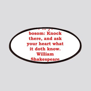 william shakespeare Patches