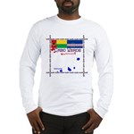 Cabo Verde Flags Long Sleeve T-Shirt
