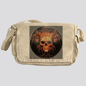 skull demon Messenger Bag
