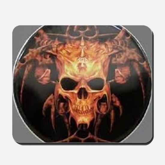 skull demon Mousepad