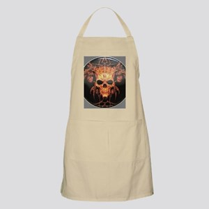 skull demon Apron