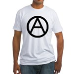 Anarchist Fitted T-Shirt