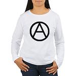 Anarchist Women's Long Sleeve T-Shirt