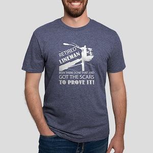 Retired Lineman T Shirt, Cool Lineman T Sh T-Shirt
