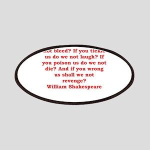 william shakespeare Patches
