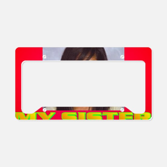3-Rifqa Bary License Plate Holder