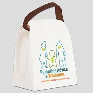 Parenting DESIGN Canvas Lunch Bag