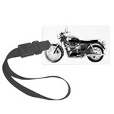 Triumph motorcycle Luggage Tags