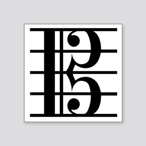 "altoclef-smooth Square Sticker 3"" x 3"""