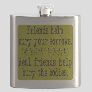 FriendsHelpBuryYourSorrows Flask