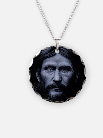 Rasputin Necklace Circle Charm
