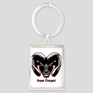 Super Charged Ram Style Mousepad Keychains