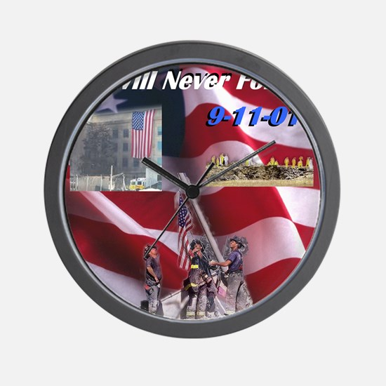 we-will-never-forget Wall Clock