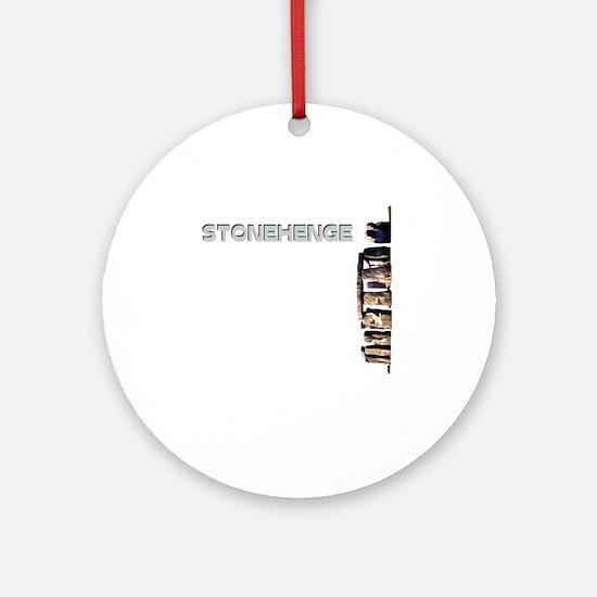 sth3sidehinge Round Ornament