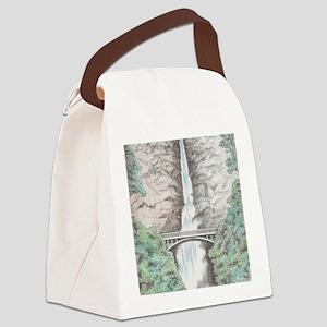 multnomahfalls2 Canvas Lunch Bag