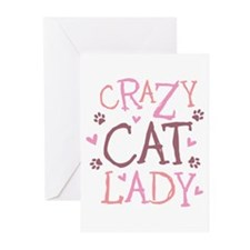 Crazy Cat Lady Greeting Cards (Pk of 10)