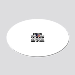 RIGHTWINGfinal3 20x12 Oval Wall Decal