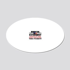 RIGHTWINGfinal2 20x12 Oval Wall Decal