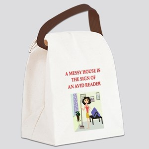 READER Canvas Lunch Bag