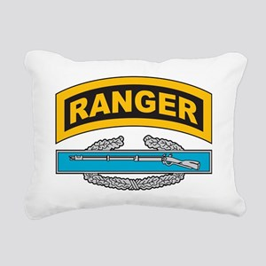 CIB with Ranger Tab Rectangular Canvas Pillow
