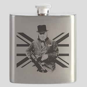 Churchill Flag Flask