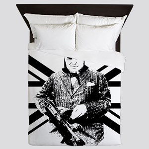 Churchill Flag Queen Duvet
