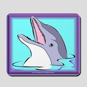 Purple Dolphin Mousepad
