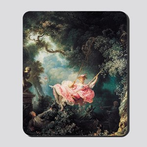 fragonard-swing_13-5x18 Mousepad