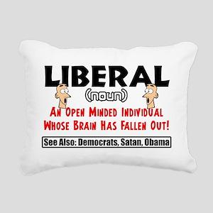 liberal1 Rectangular Canvas Pillow