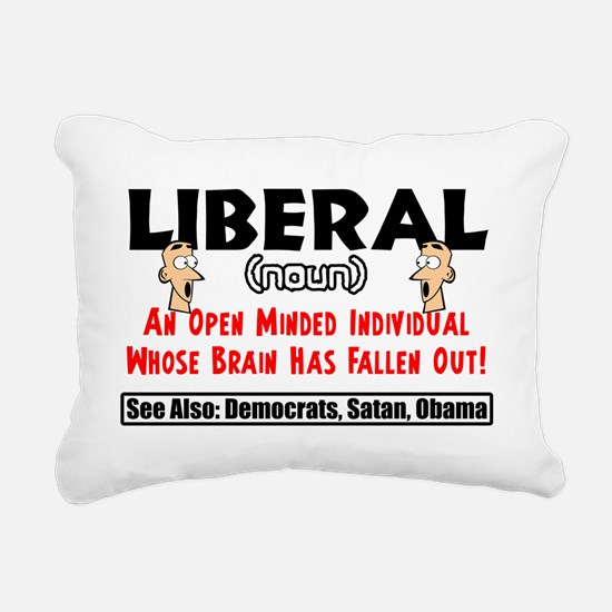liberal1 Rectangular Canvas Pillow