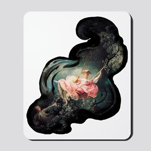 fragonard-swing_tr-dark Mousepad