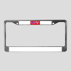 Colbert Stewart '08 License Plate Frame