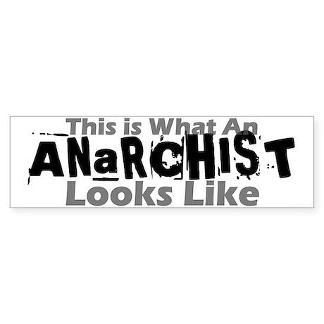 Anarchist Bumper Sticker