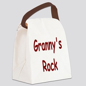 grannys rock Canvas Lunch Bag
