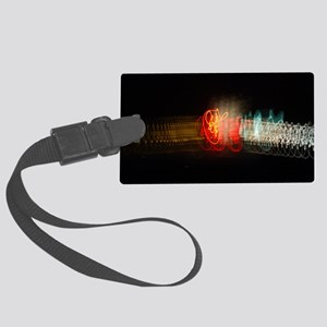 Super Collider Large Luggage Tag
