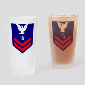 USCG-Rank-TC2 Drinking Glass