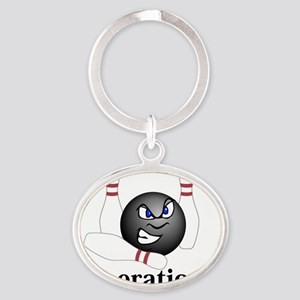complete_b_1114_5 Oval Keychain