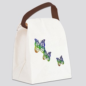 earth lover white Canvas Lunch Bag