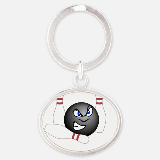 complete_w_1114_5 Oval Keychain
