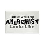 Anarchist Rectangle Magnet (10 pack)
