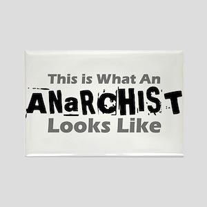 Anarchist Rectangle Magnet