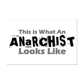 Anarchist Mini Poster Print