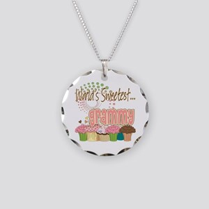Sweetest grammy copy Necklace Circle Charm