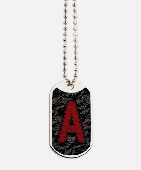 scarlet-a_8x12 Dog Tags