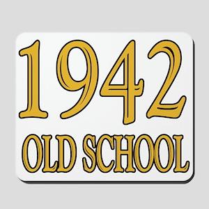 1942: Old School Mousepad