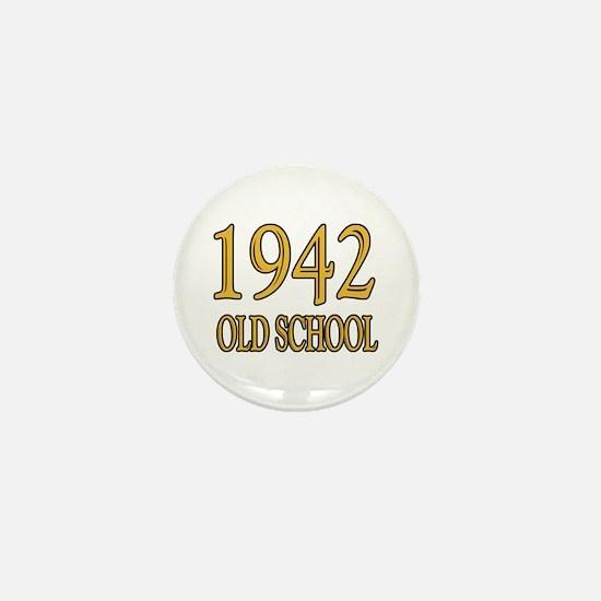 1942: Old School Mini Button