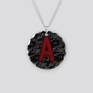 scarlet-a_square Necklace Circle Charm