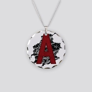 scarlet-a_tr2 Necklace Circle Charm
