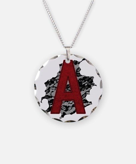 scarlet-a_tr2 Necklace